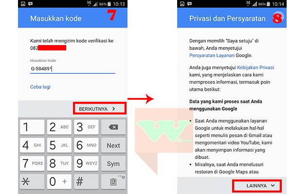 Cara Buat Email Baru di Android