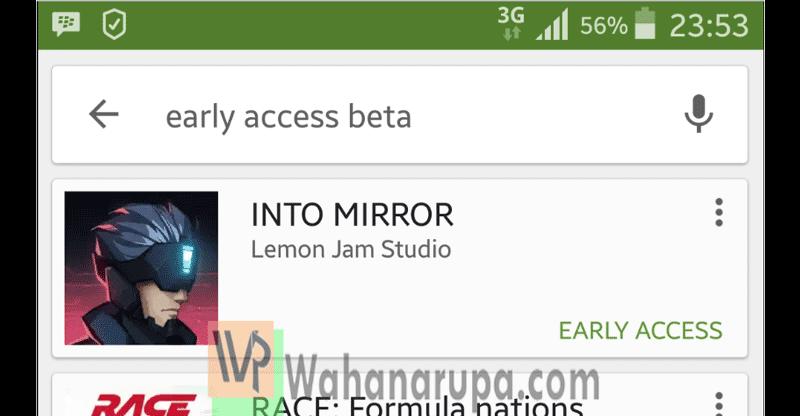 cara test aplikasi android versi beta