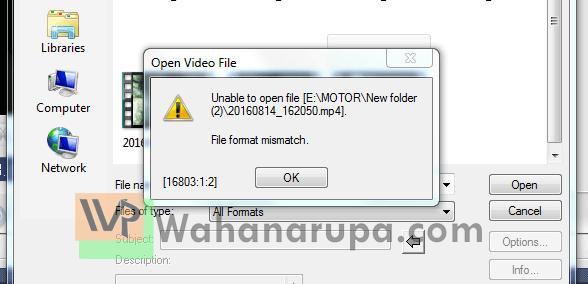 Cara Perbaiki Video Tidak Bisa Dibuka di Ulead dan Corel Video Studio