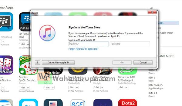 Download Aplikasi iPhone