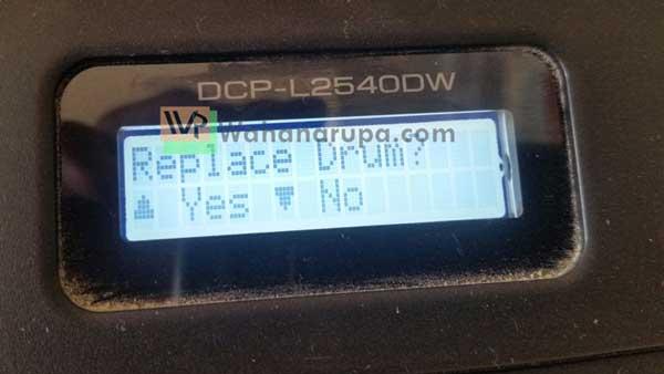 Cara Reset Printer Brother DCP-L2540DW Setelah Isi Ulang