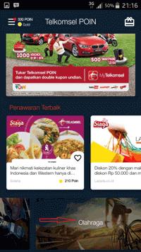 Tukar Poin Telkomsel, Diskon Alfamart dan Toko Online Lainya
