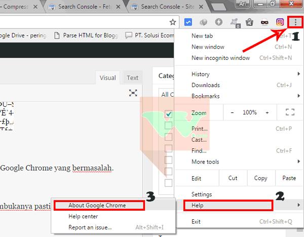 Google Chrome Error Tidak Bisa Membuka Facebook