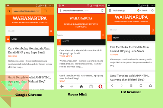 Browser Terbaik Untuk Handphone