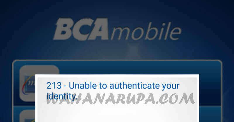 Cara Mengatasi Aplikasi BCA Mobile Error