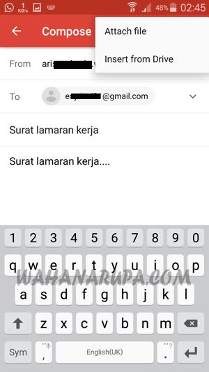 Cara Mengirim Email Lewat HP Sangat Mudah {Update}