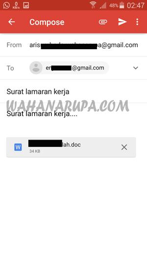 Cara Mengirim Email Lewat Hp Sangat Mudah Update Wahanarupa Com