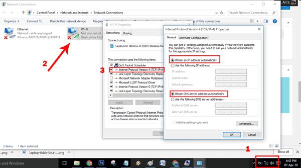 cara mengembalikan wifi yang hilang di windows 7