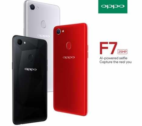 Oppo F7 terbaru