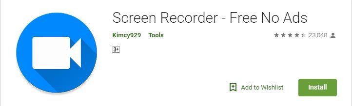 Screen Recorder – Free No Ads