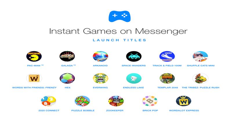 Game Tersembunyi di Facebook Messenger