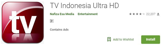 TV Indonesia Ultra HD