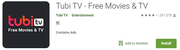 Tubi TV – Free Movies & TV