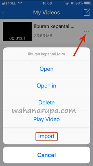 cara mengirim file dari laptop ke iPhone