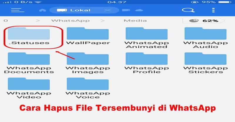 WhatsApp penuhi memori