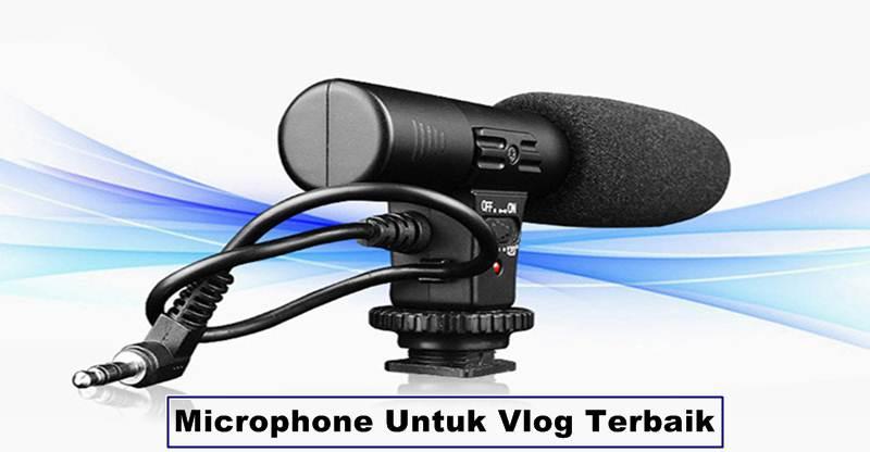 Daftar Microphone Untuk Vlog Terbaik dan Harga Murah