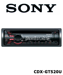 Sony CDX GT520US