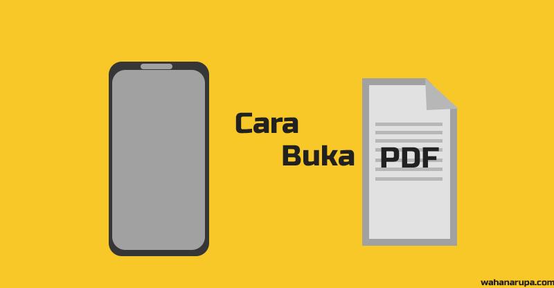 Cara membuka file PDF di HP android