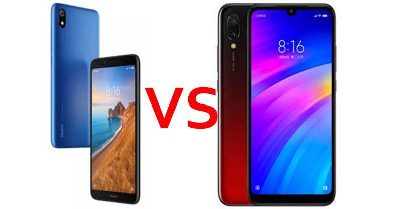 Xiaomi Redmi 7A vs Xiaomi Redmi 7