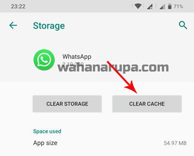 story WhatsApp Teman Hilang