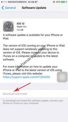 Cara Mengatasi iPhone Gagal Update iOS Terbaru