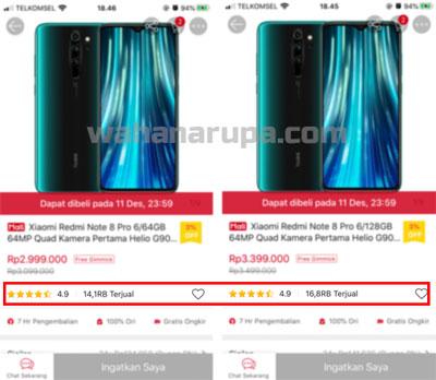 Seri Xiaomi Redmi Note 8 Terjual 10 juta Unit lebih dalam 3 bulan