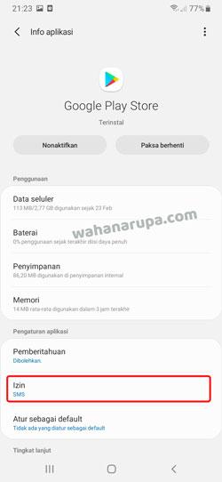 Google Play Pembayaran via Pulsa Tidak Muncul