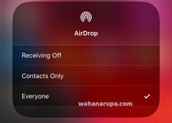 Cara Mengatasi AirDrop iPhone Tidak Bisa