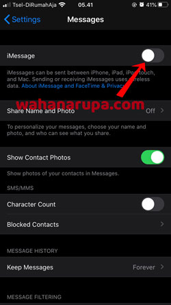Cara Mengatasi iPhone Tidak Bisa Kirim SMS