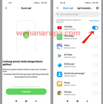Cara Kunci Aplikasi di Xiaomi Semua Tipe