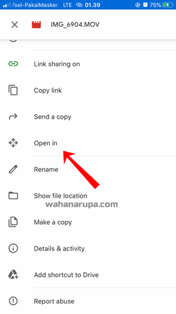 Cara save video dari google drive