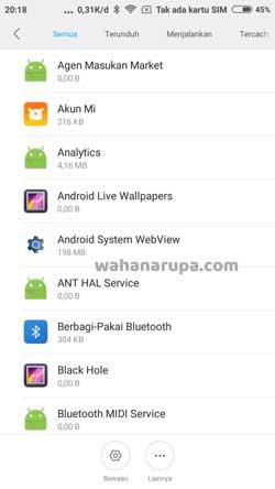 Cara Hapus File Lainnya HP Xiaomi