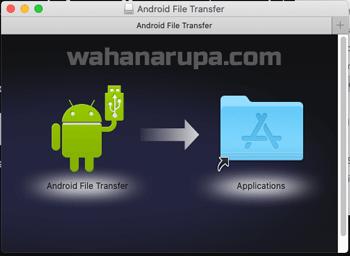 cara kirim file dari macbook ke android